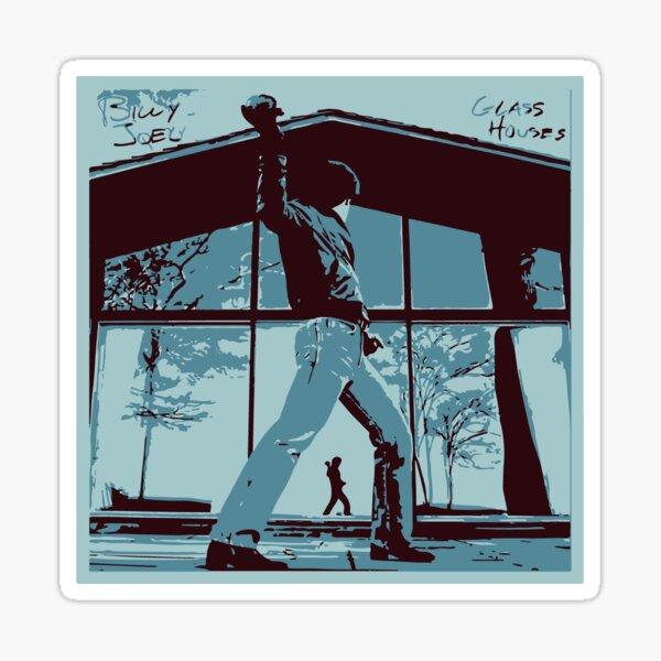 billy joel glass houses Sticker