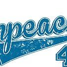 Impeach 45 Baseball Logo by redwoodandvine