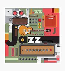 I love jazz 2 Photographic Print