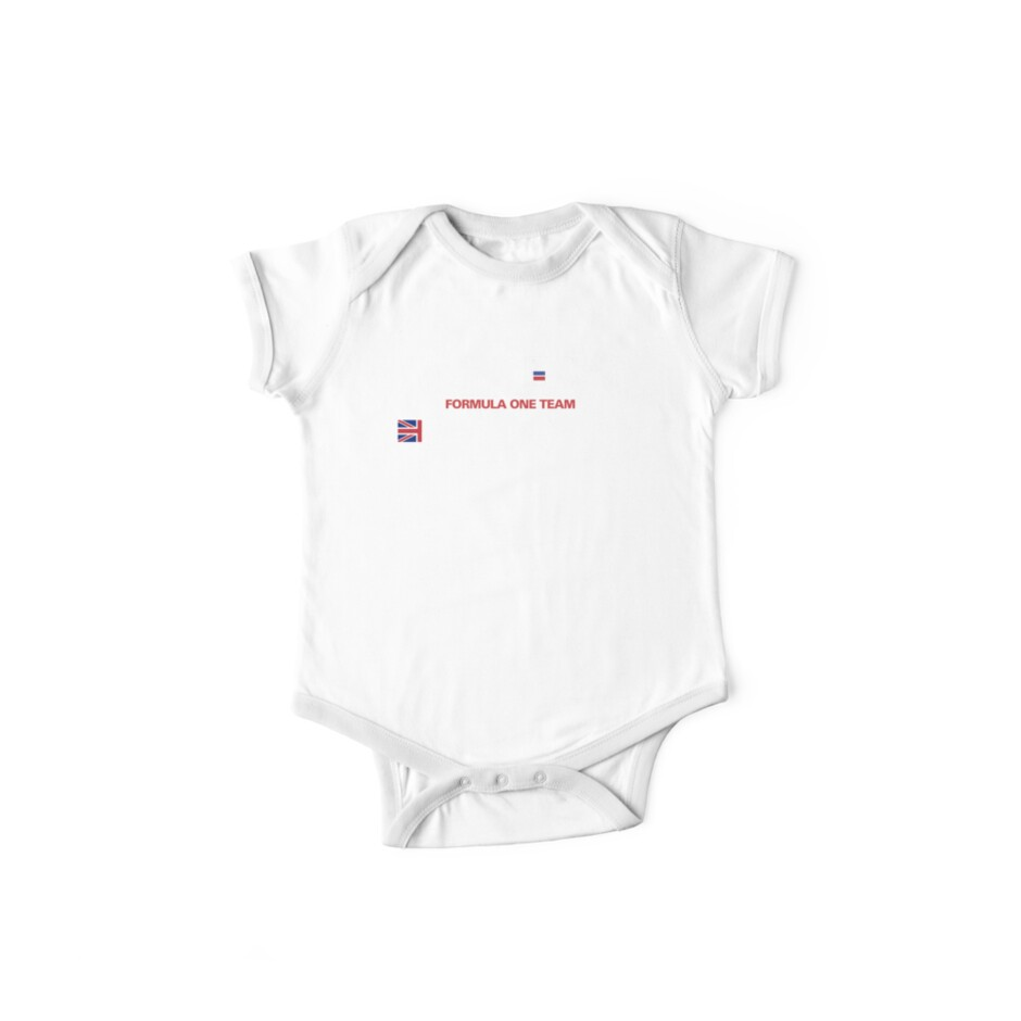 andrea moda f1 team 1992 perry mccarthy one piece short sleeve Baby Monitor andrea moda f1 team 1992 perry mccarthy