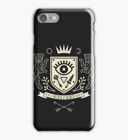 The Secret Society iPhone Case/Skin