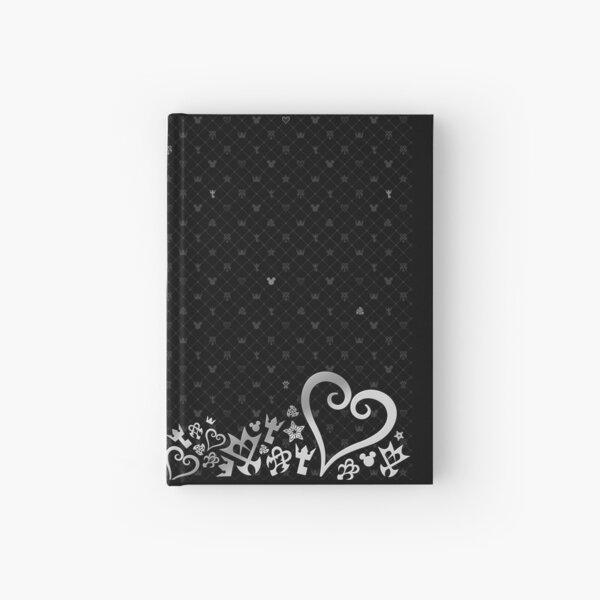 Kingdom Hearts - Motif noir Carnet cartonné