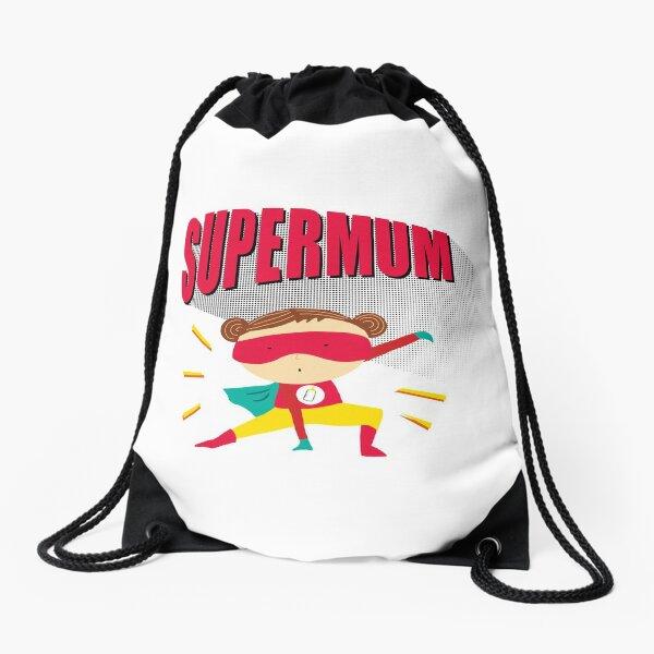 Super Mum!! Drawstring Bag