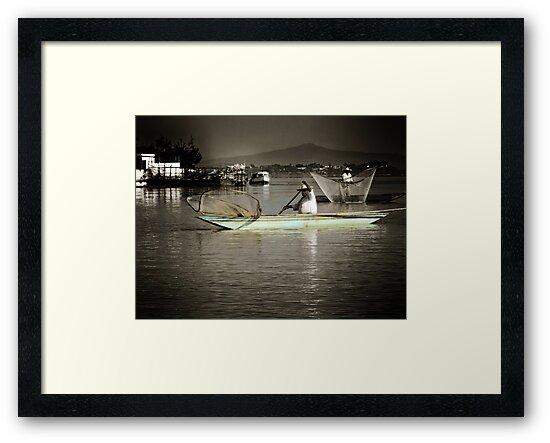 ©MS Fisherman At Janitzio Island IAB. by OmarHernandez
