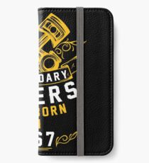 Legendary Riders Are Born In 1967 iPhone Wallet/Case/Skin