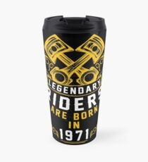 Legendary Riders Are Born In 1971 Travel Mug