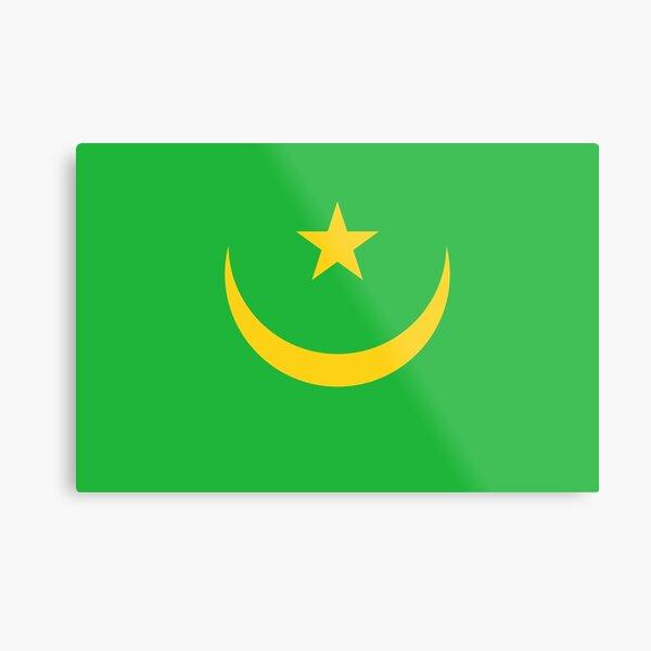 Mauritania Flag- Show your love for Mauritania! Metal Print