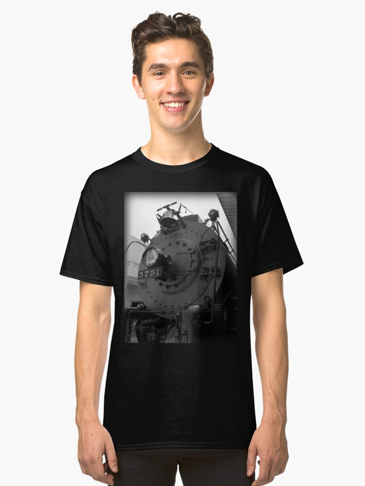 Alternate view of Steam Engine 3751 Classic T-Shirt