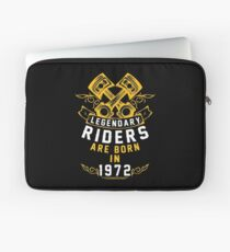 Legendary Riders Are Born In 1972 Laptop Sleeve