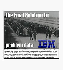 IBM & the Holocaust Photographic Print