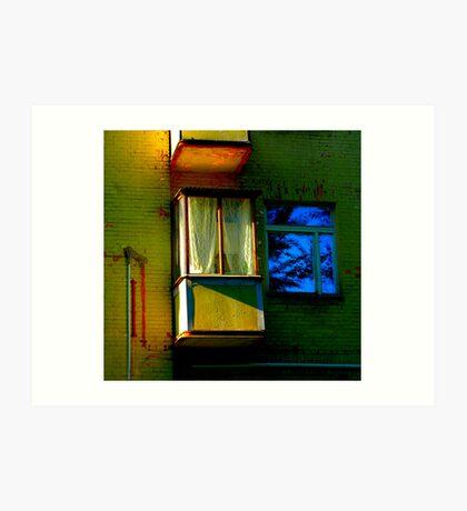 "City Life - ""Balconies, Windows, Shutters"" p.3 Art Print"