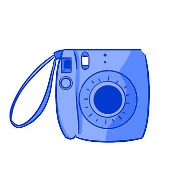 Camera Blue by askbigink