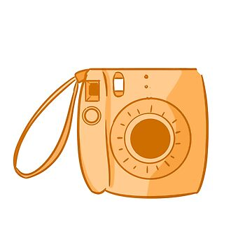 Camera Orange by askbigink