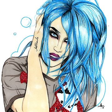 Hand Drawn Adore Delano by mikmcdade