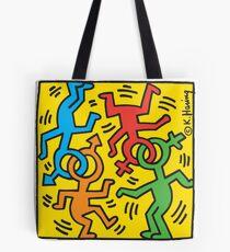 Keith Haring Gay Love Tote Bag
