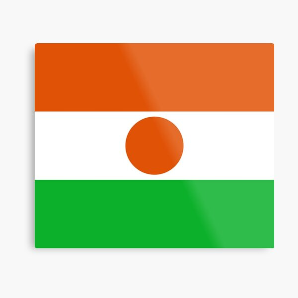 Niger Flag- Show your love for Niger! Metal Print