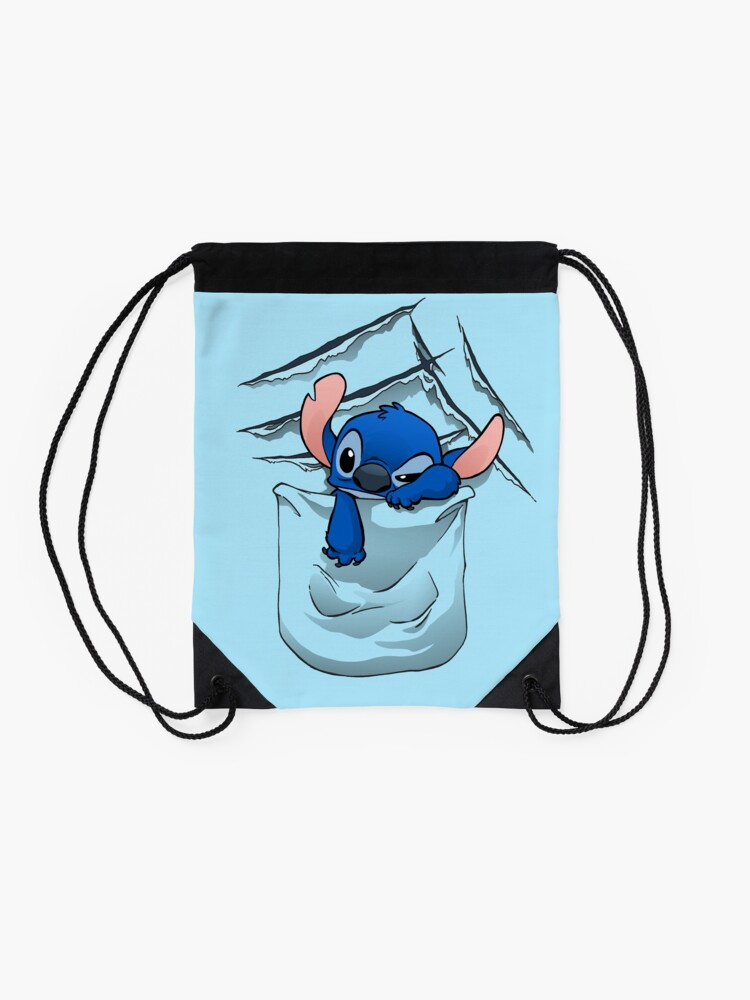Alternate view of Badness Level Rising Drawstring Bag