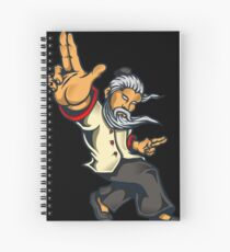 Quad Fang Finger Style Spiral Notebook