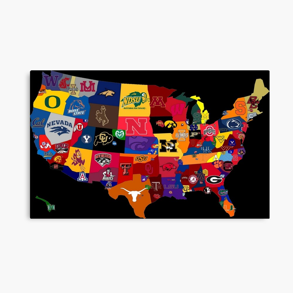 College Country Canvas Print