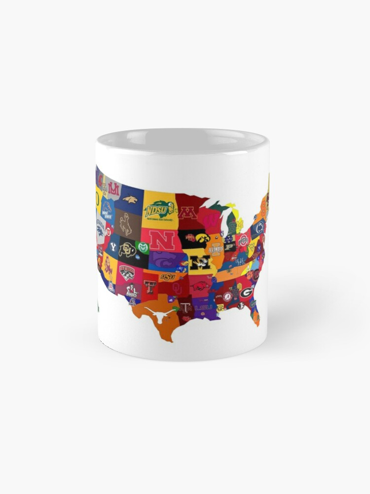 Alternate view of College Country Mug