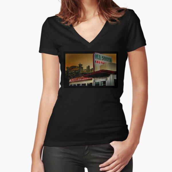 Arkansas Fitted V-Neck T-Shirt