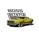 Boss 302 Mustang '70 yellow by CoolCarVideos