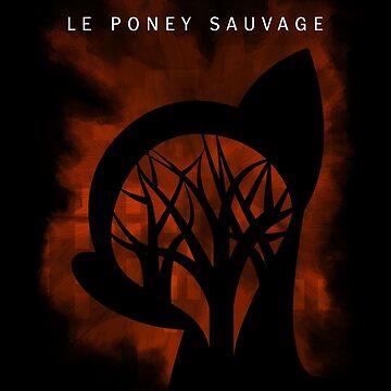 Le Poney Sauvage 2 by DarkSatanicorn