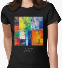 Masterpiece - ART. Abstract. Women's Fitted T-Shirt