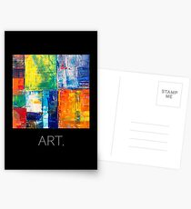 Masterpiece - ART. Abstract. Postcards