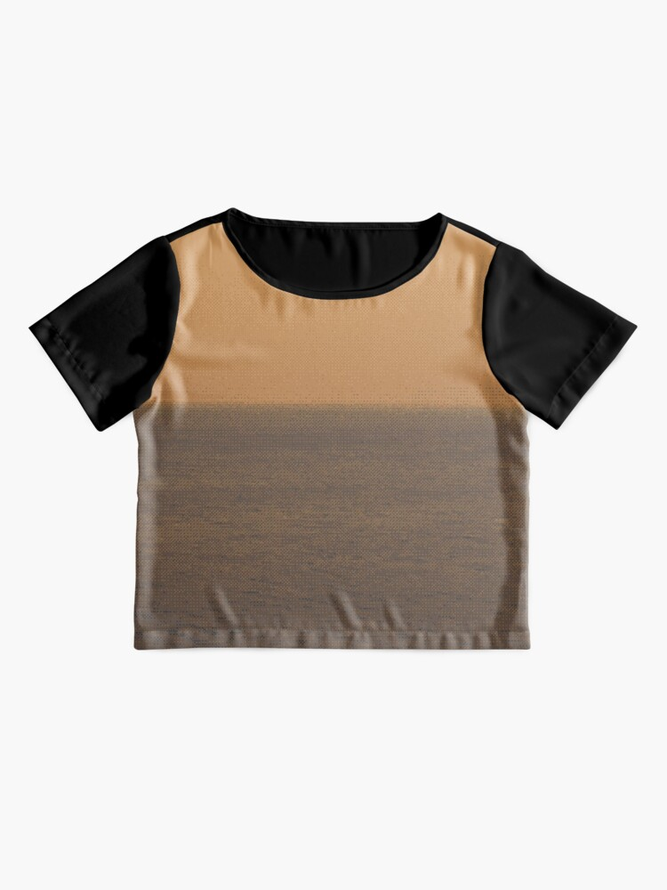 Alternate view of Mellow Patterned Sea ✧ Digital Impressionistic ✧ Chiffon Top