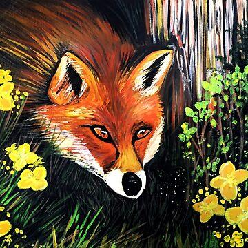 Fox In Nature by Adamzworld
