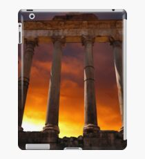 Temple of Saturn Ruins iPad Case/Skin