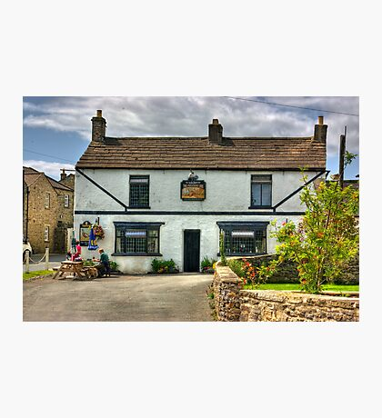 The Pheasant Inn - Harmby Photographic Print