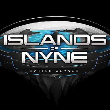 Islands of Nyne Graphic Logo by Purpleandorange