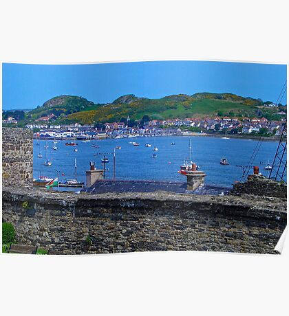 Conwy Harbour - North Wales Poster