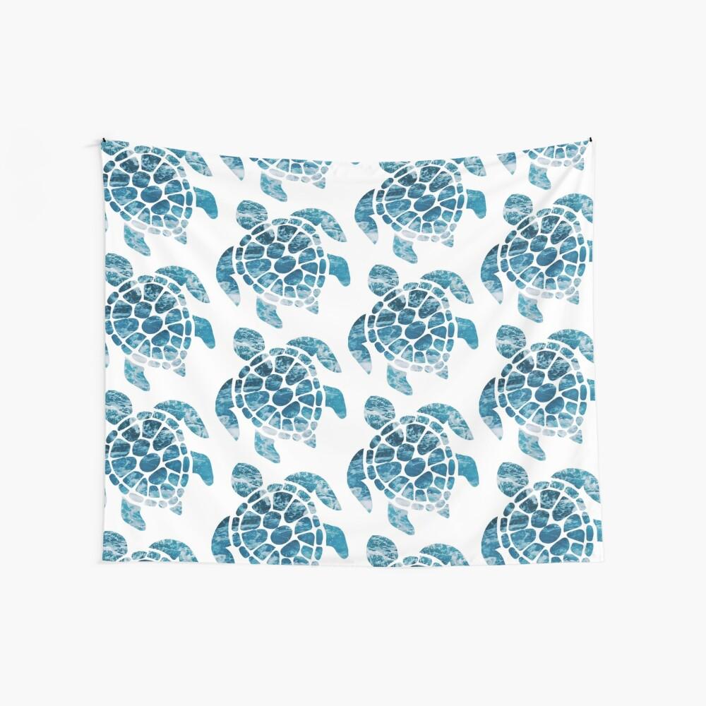 Ocean Sea Turtle Wall Tapestry