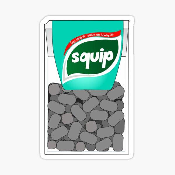 Wintergreen Squips- revamped  Sticker