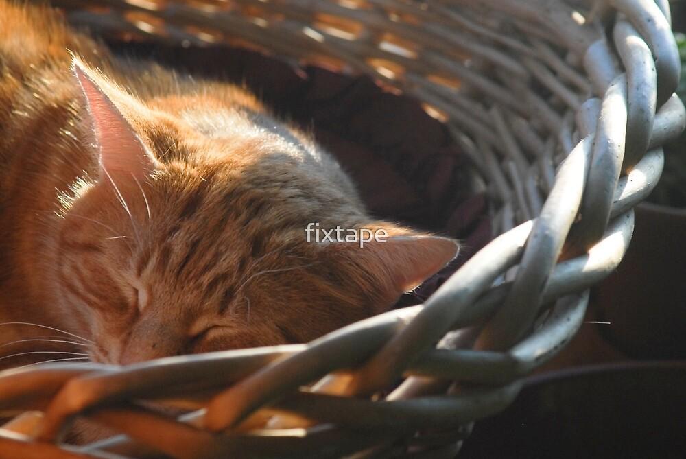 Sleepy Red Boy by fixtape