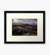 From Loughsalt Mountain Framed Print