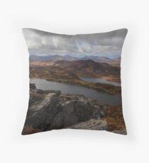 From Loughsalt Mountain Throw Pillow