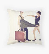 Domestic Throw Pillow