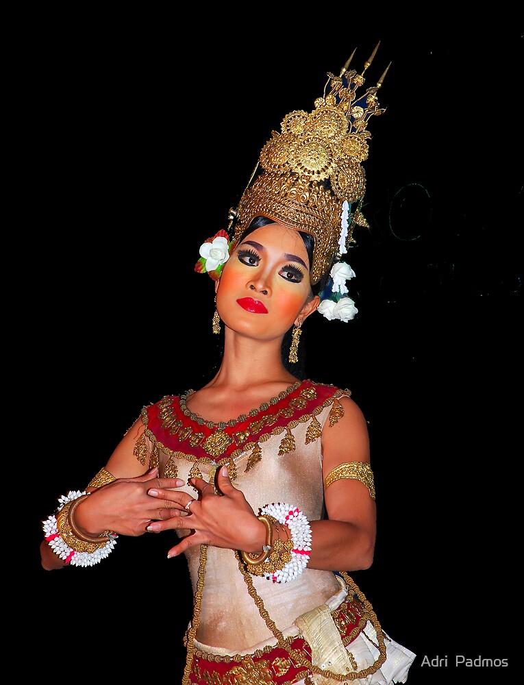 Cambodian Dancer by Adri  Padmos