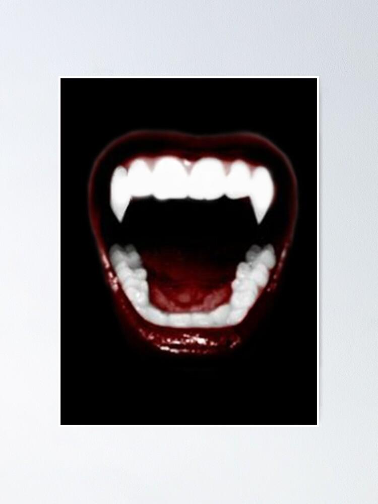 Vampire Teeth Ideal Gift Printed Mug