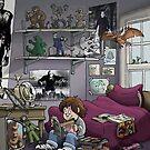 A Boy's Room by 16TonPress
