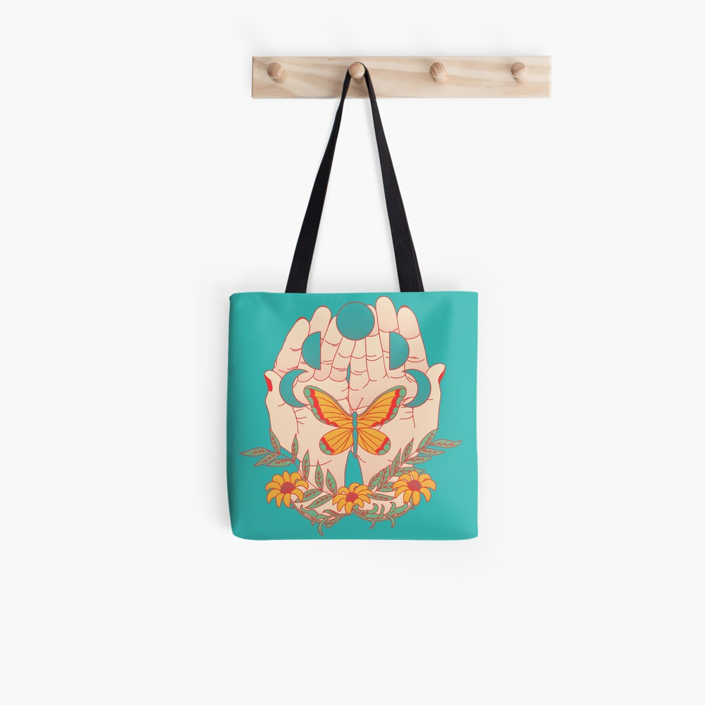 In Her Hands Tote Bag