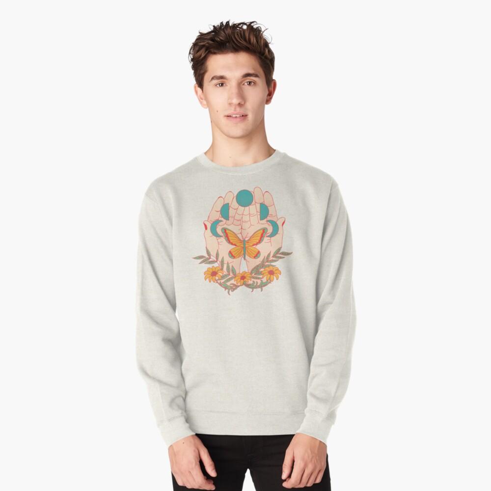 In Her Hands Pullover Sweatshirt