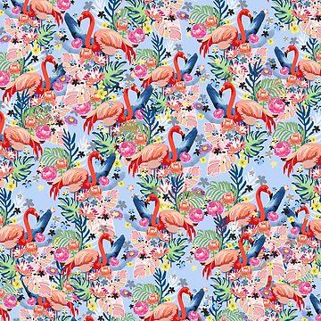Flamingo Land Blue by muktalata-barua
