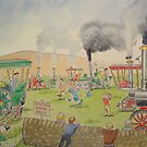 Traction Engine Rally by Martin Williamson (©cobbybrook)