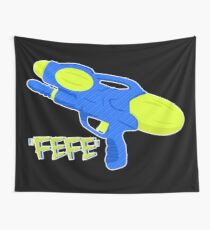 water pistol Wall Tapestry