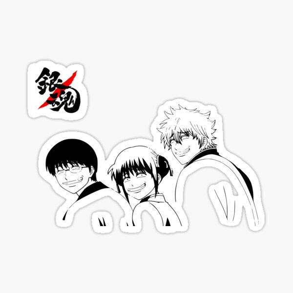 Gintama's Smiles Sticker